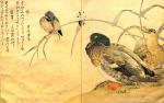 Китагава Утамаро.   Утка